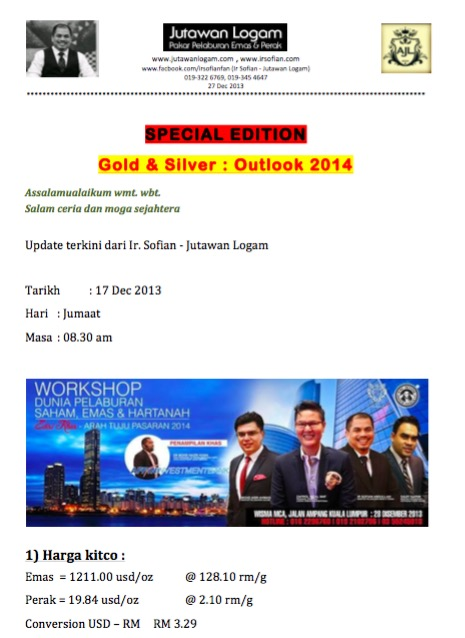 Workshop Dunia Pelaburan 2013 Richworks