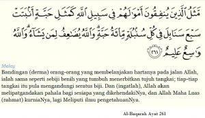 ir sofian akademi jl amalan sedekah surah al-baqarah ayat 261