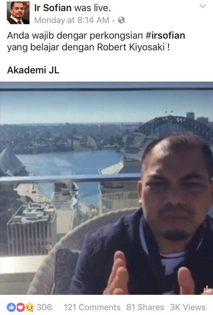 ir sofian live in sydney 3000 views akademijl #irsofian #akademijl